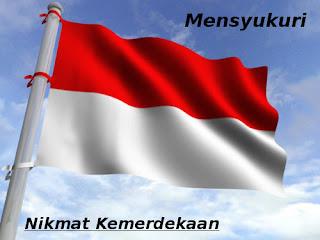 bendera-merah-putih (mensyukuri nikmat kemerdekaan) karyafikri.blogspot.com