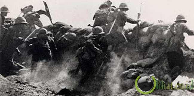 Pertempuran Gallipoli (473.000 korban )