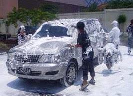 """Usaha Cuci Mobil dan Motor ( Snow Wash ) """"Ide Bisnis Laris Balik Modal"""