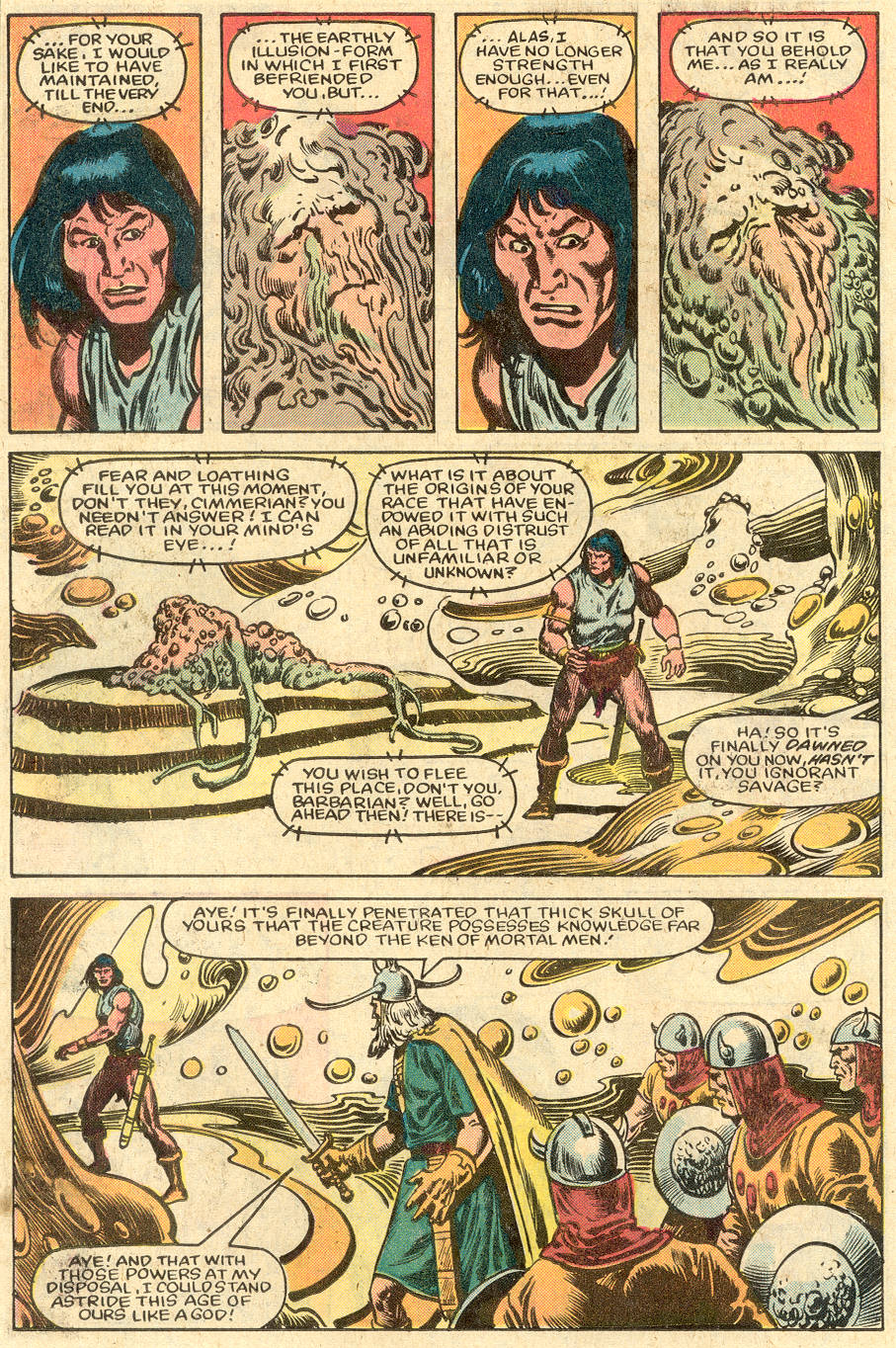 Conan the Barbarian (1970) Issue #150 #162 - English 19
