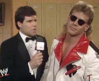 WWF ROYAL RUMBLE 1992 - Shawn Michaels talks to Sean Mooney