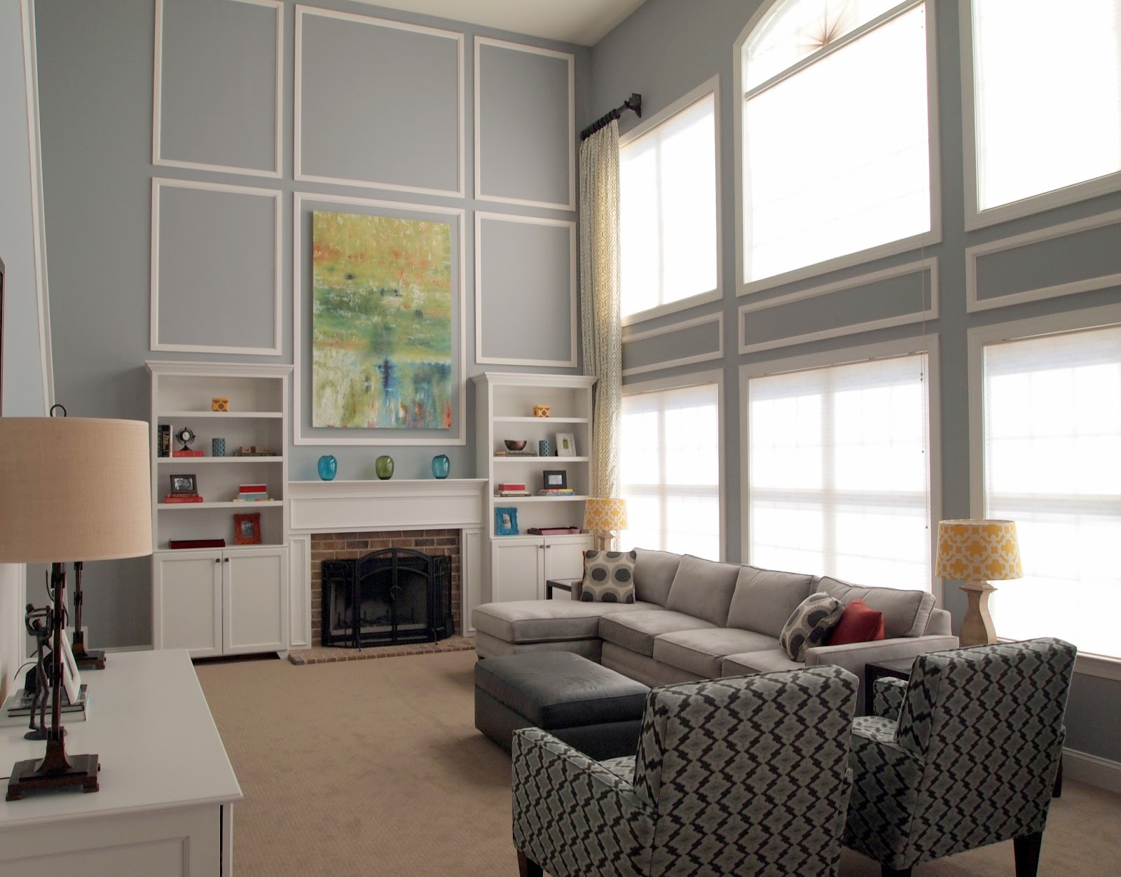 Two Ideas For Story Family Rooms