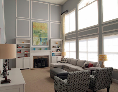 Family Room Decorating Ideas on With Box Moldings  Check Out More Photos Of This Room Click Here