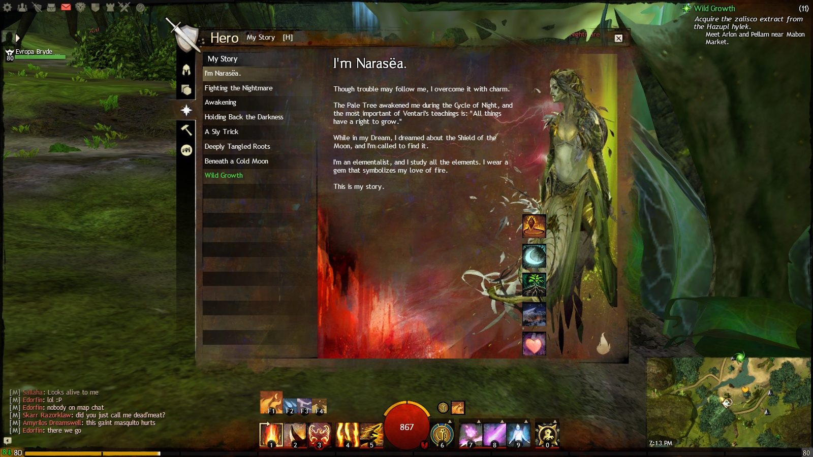 Guild Wars 2 Sylvari Storyline Options