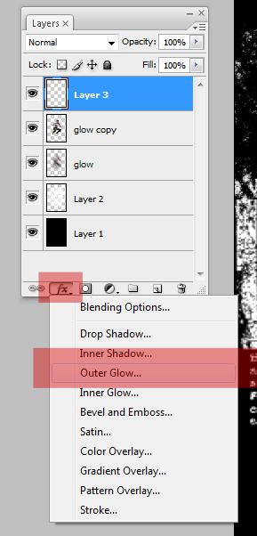 glow21 Penggunaan efek glow di Dance Ray dengan photoshop