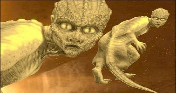 Οι άνθρωποι σαύρες όπου είναι θεότητες και ταξιδεύουν μέσα στα άστρα όπου βγαίνουν μέσα από ανοίγματα της γης!!!