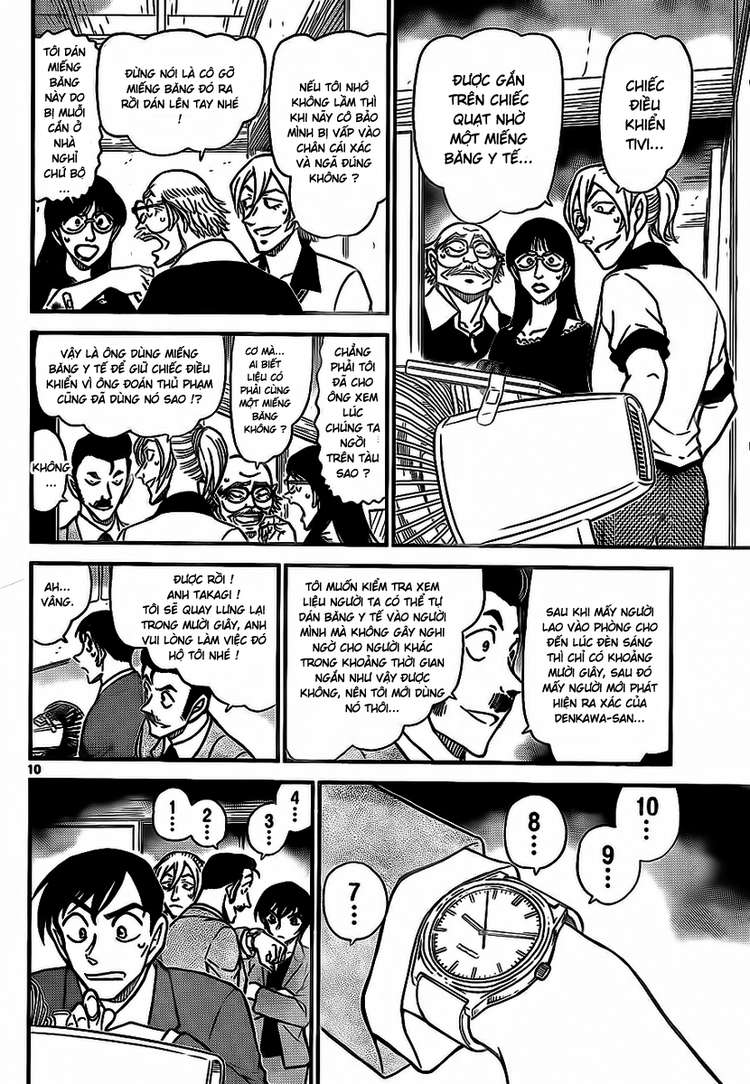 Detective Conan - Thám Tử Lừng Danh Conan chap 789 page 11 - IZTruyenTranh.com