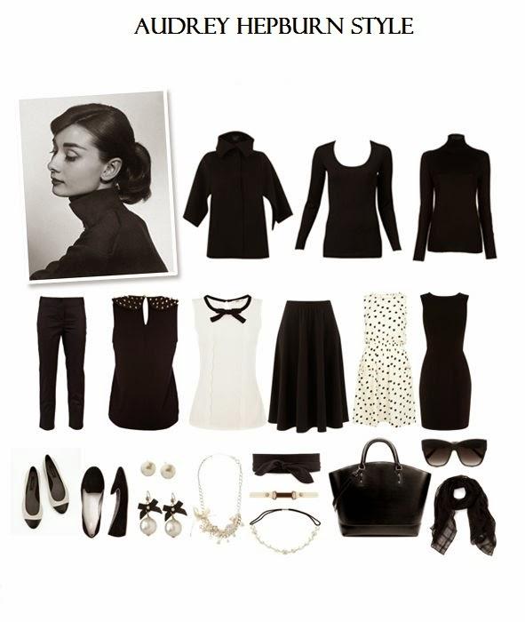 Rachel S Fashion Room Personajes Con Estilo Audrey Hepburn