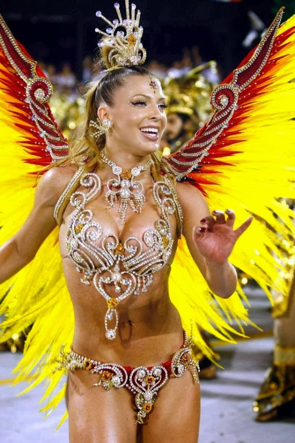 Sheila Mello, Beautiful women in carnival Brazil