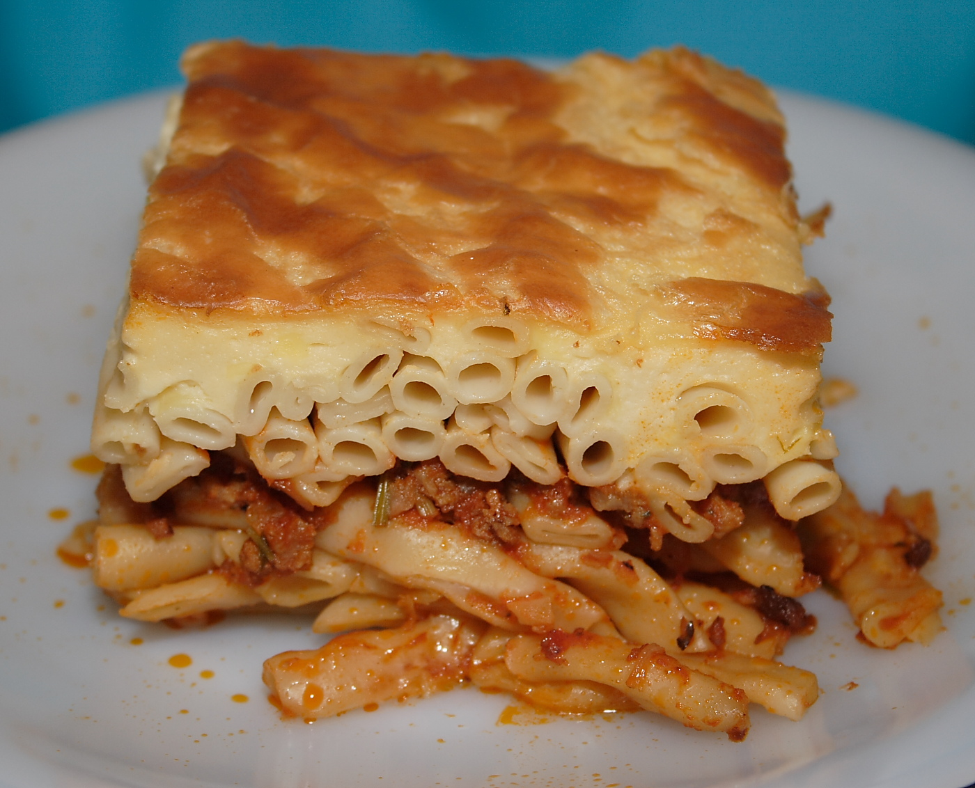 Anastasias Greek Cook Book: Grekisk Lasagne (Pastitsio)
