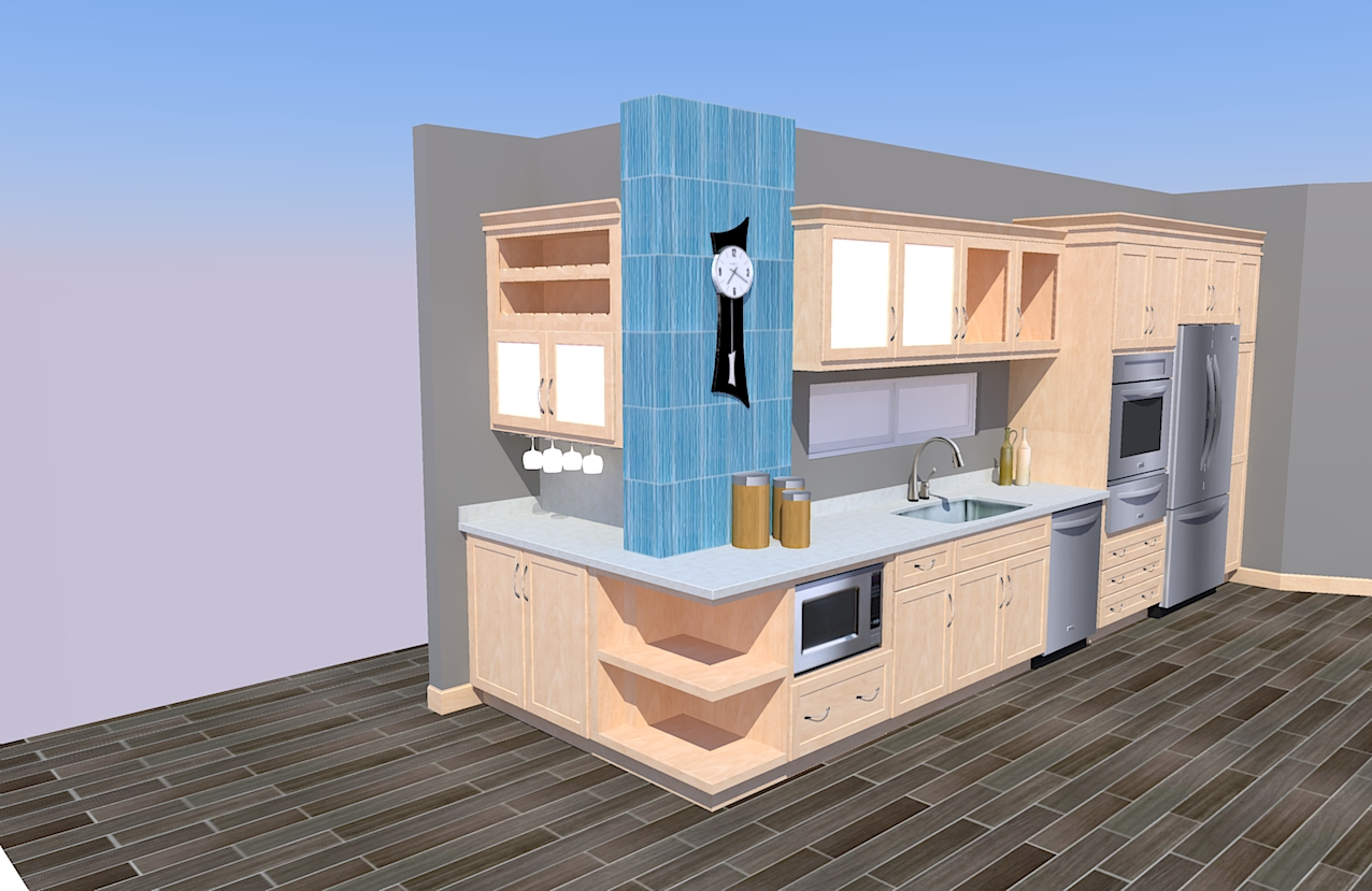 Djulfiqar design interior furniture november 2011 Kitchen design software google sketchup