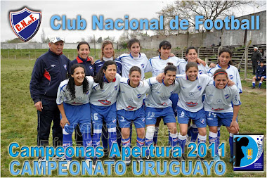 CAMPEONAS DEL APERTURA 2011