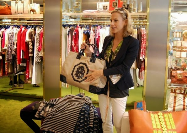 tory burch, Reva ballet flats, t-logo medallion, bloomingdale, nordstrom, saks, 10 Things You May Not Know About Tory Burch,