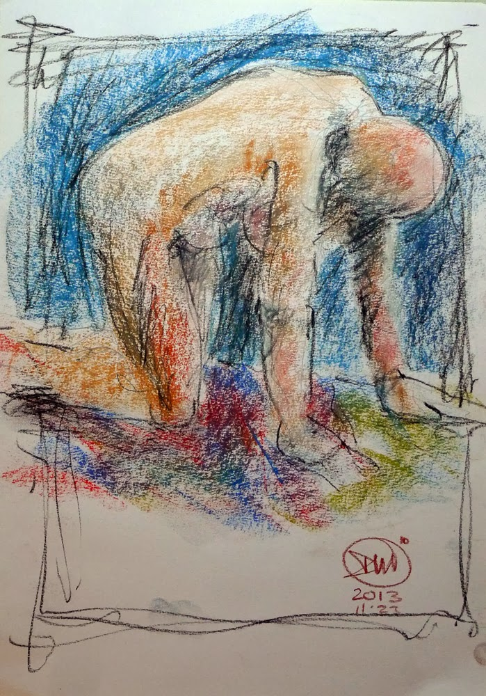 10 minute nude by David Meldrum