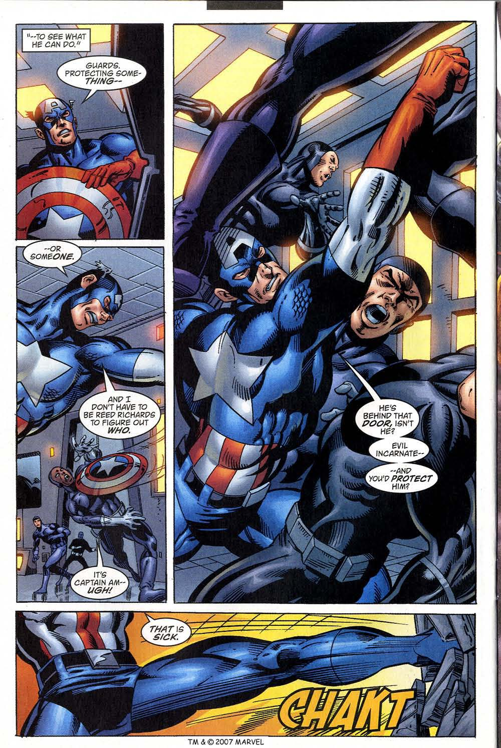Captain America (1998) Issue #46 #53 - English 28