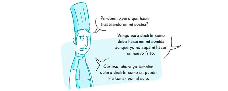 Diseñadores como cocineros
