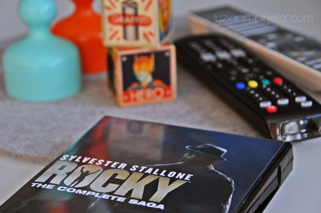 [luzia pimpinella BLOG] ich bin ein ROCKY fan: foto der DVD sammlung / i'm a ROCKY fan: picture of the DVD collection