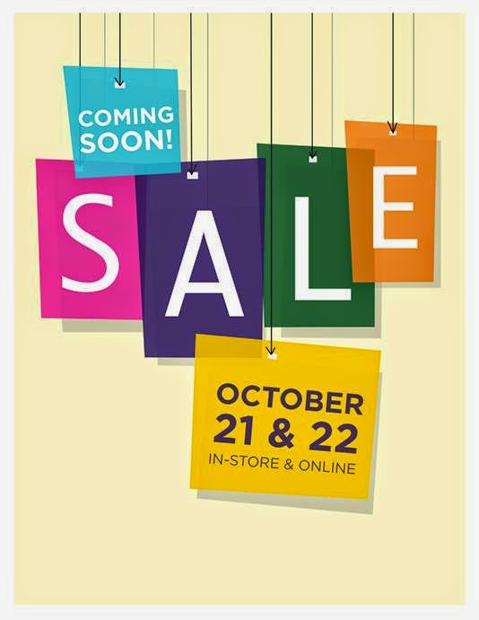image for bookstore sale Oct. 21-22 in-store and online.