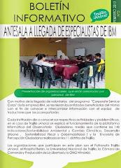 Boletín de Actividades Trujillo ¡Ahora!-Febrero 2015