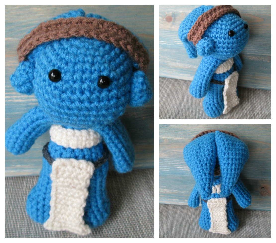Free Amigurumi Star Pattern : Sea Star Stitches: Twilek Star Wars Amigurumi Crochet Pattern
