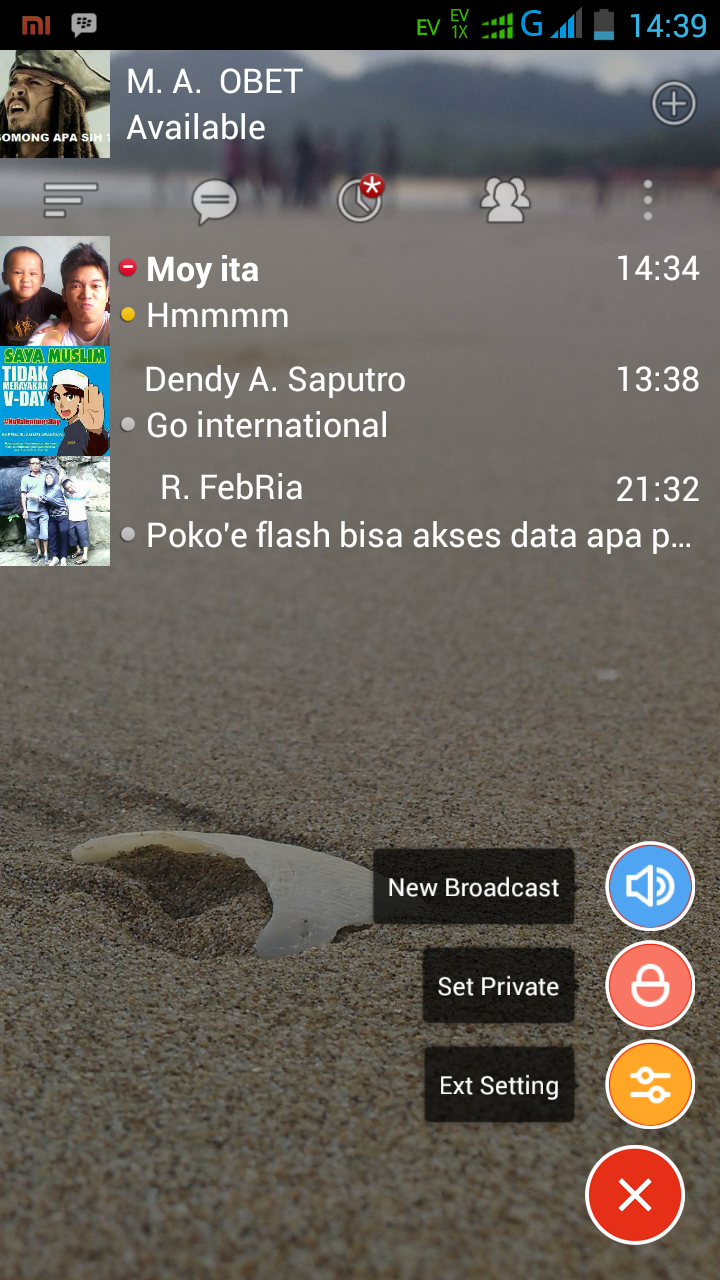 12:25 AM Android , BBM No comments