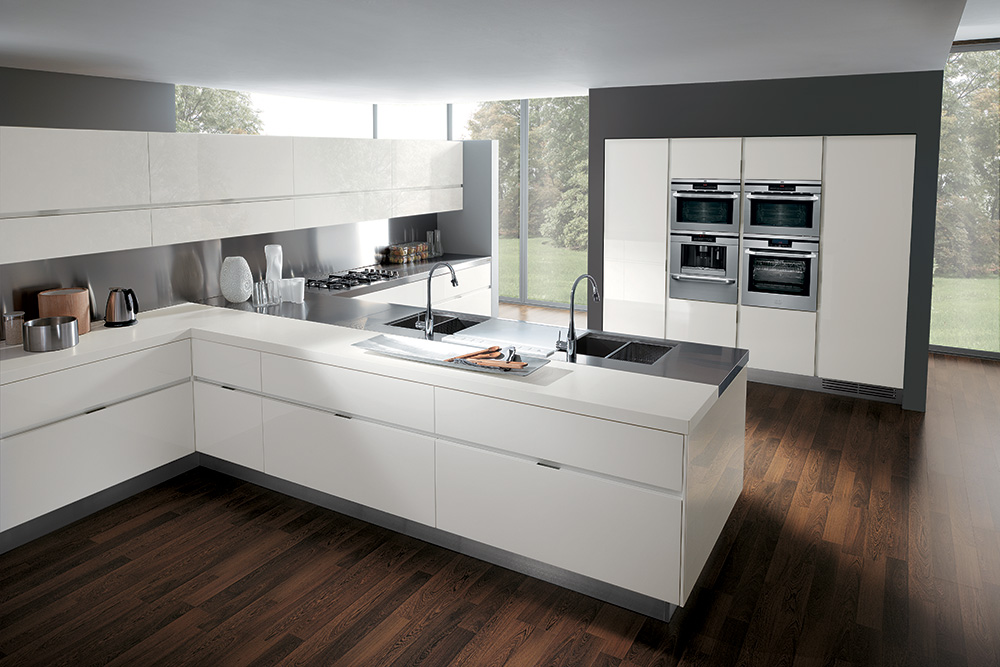 Ajot pracownia projektowa kuchnia nowoczesna for Cocina 18 metros cuadrados