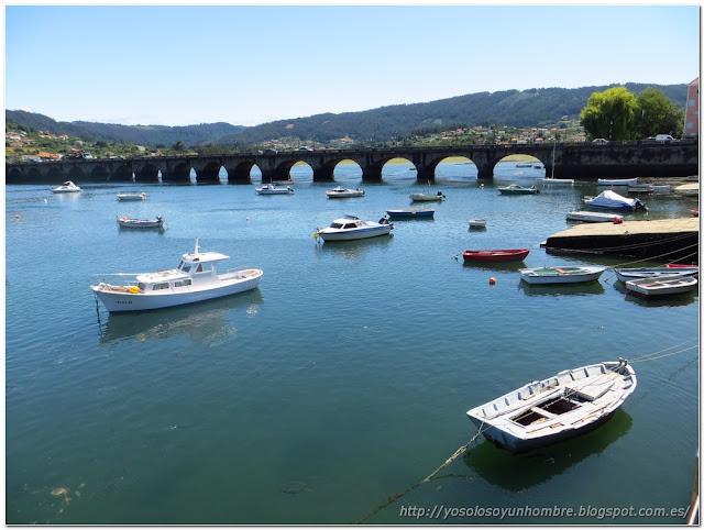 El puente sobre el Eume