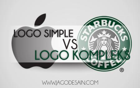 Desain Logo Sederhana vs Logo Kompleks