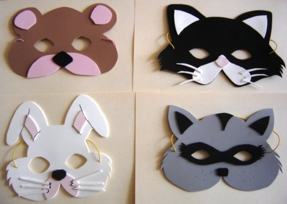 Como hacer mascaras de perro en fomy - Imagui