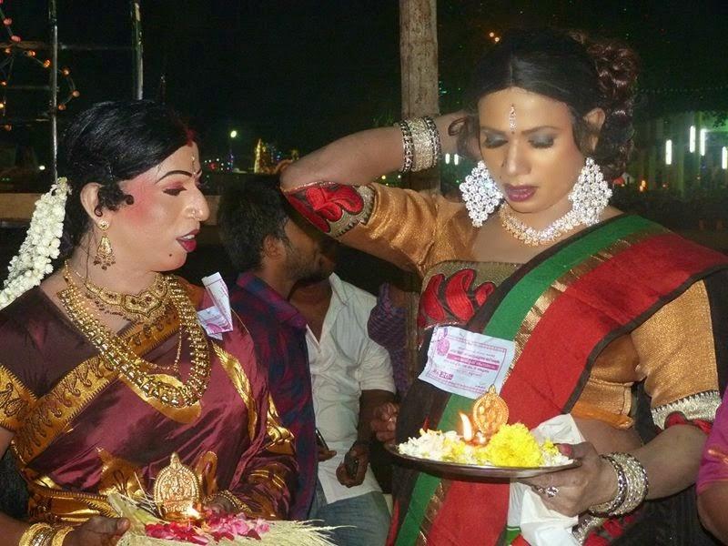 Bengali crossdresser