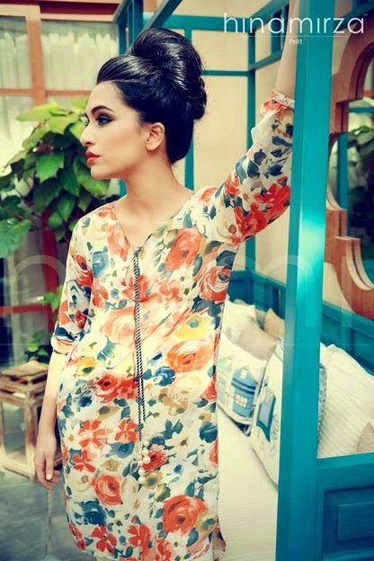 Hina Mirza Summer Collection 2014-2015 for Girls