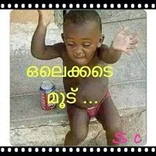 Olakkede moodu - New photo comments in Malayalam