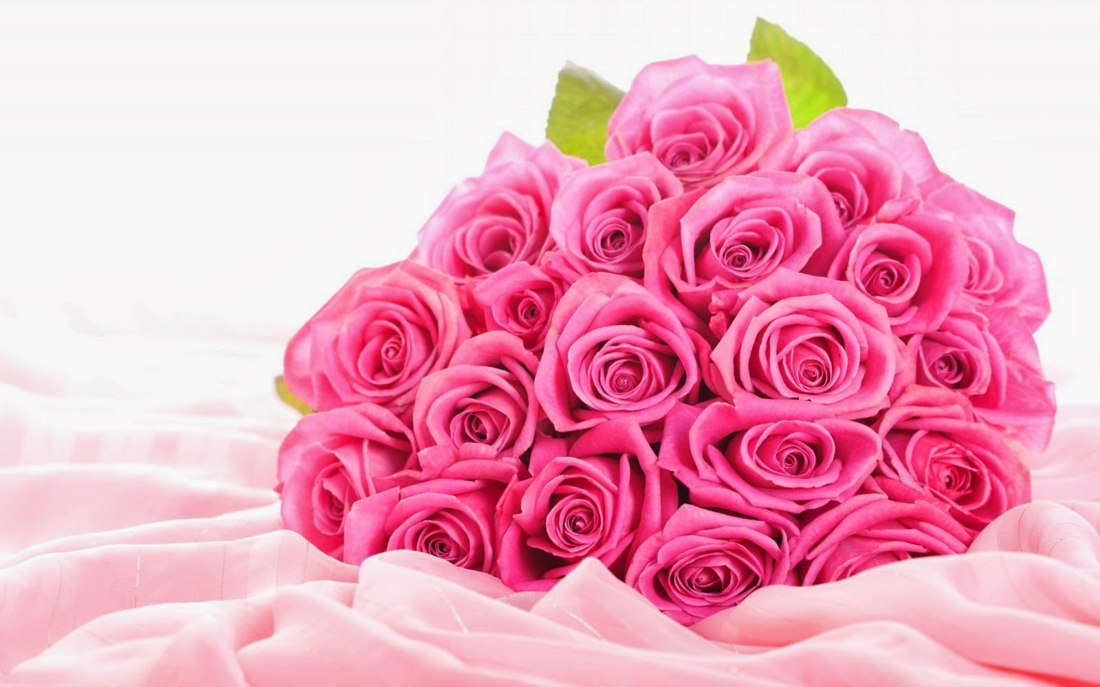 wallpapers: Pink Rose Bouquet Wallpapers