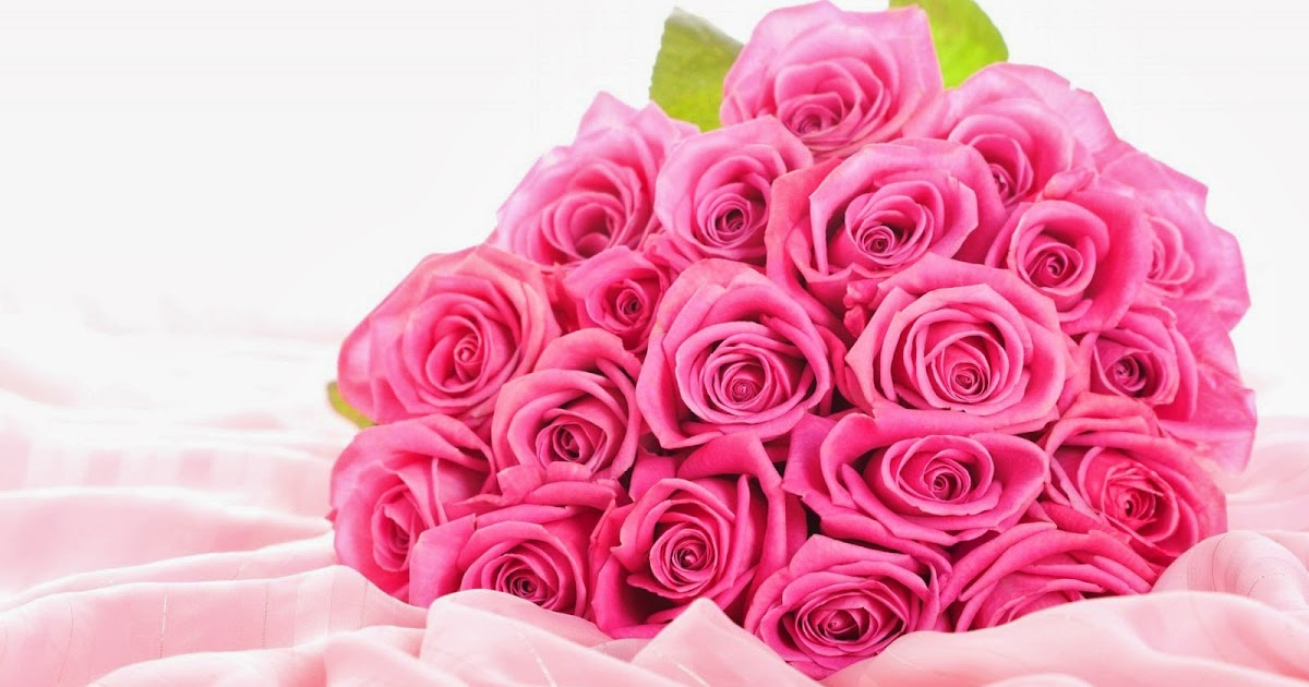 Wallpapers pink rose bouquet