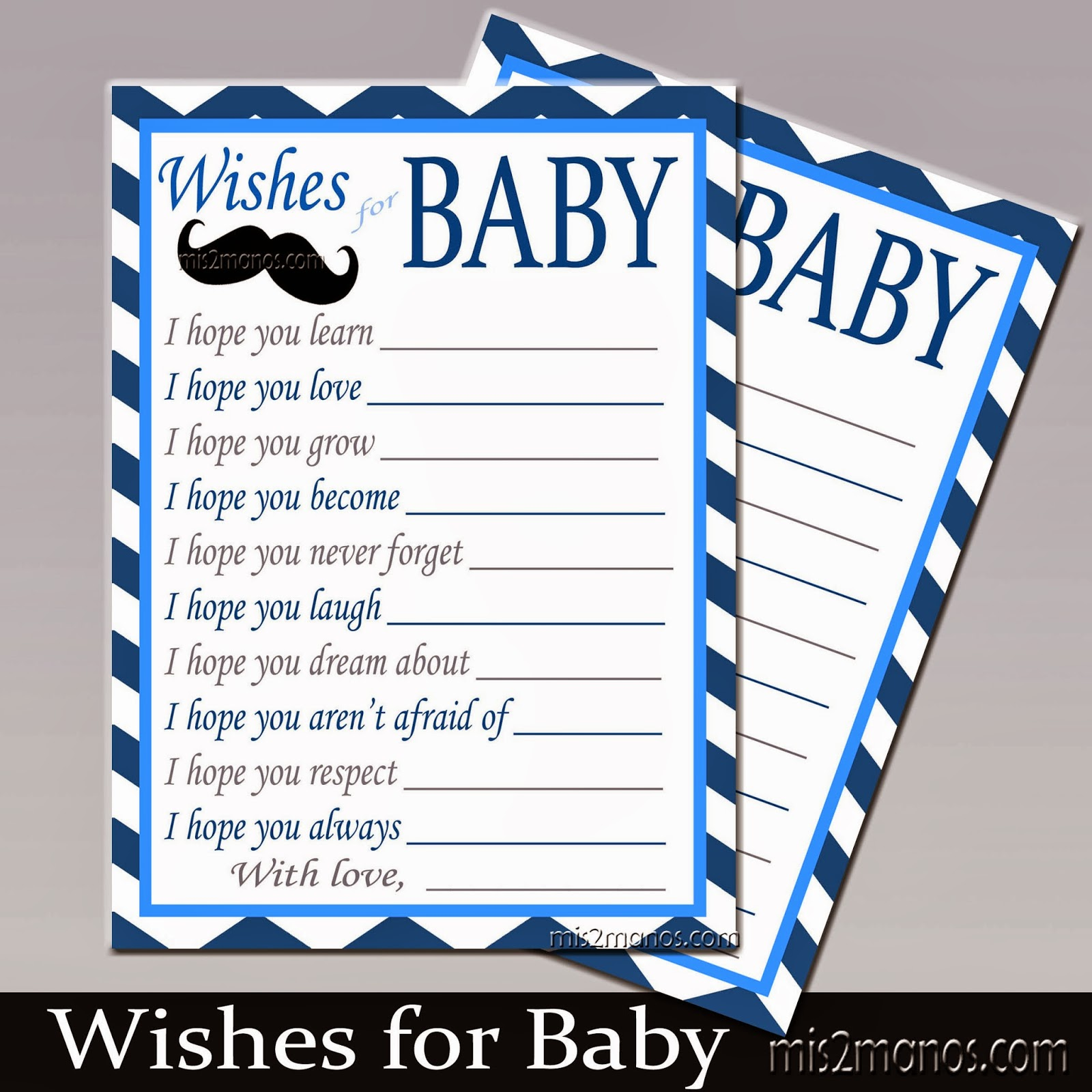 15 Awesome Wishes for Baby Template | Best Template
