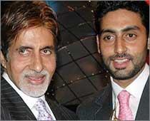 Amitabh Bachchan, Abhishek Bachchan, Bollywood actor, Bollywood Actors, Bollywood Events, World Cup 2011, current world news