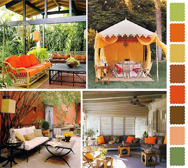 brilliant color for the design garden | Manufacturers Outdoor Furniture