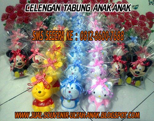 Celengan Ta bung Anak-Anak Karakter Doraemon, Hello Kitty, Mickey ...