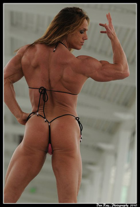 Sheila Bleck Female Muscle Bicep Flex
