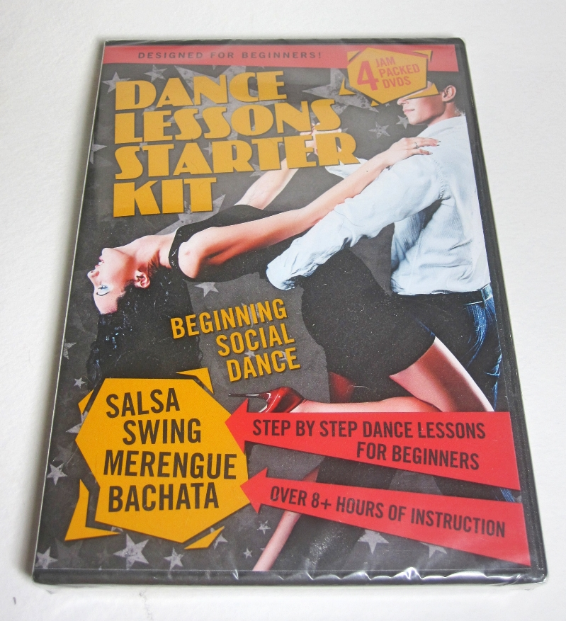 Dance Lessons Starter Kit teaches you the basic moves for four popular dances - Swing, Salsa, Merengue, and Bachata