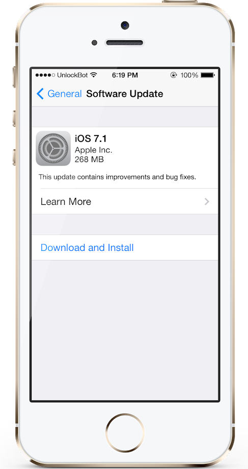 Download iOS 7.1