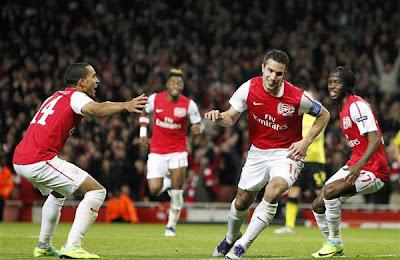 Arsenal 2 - 1 Borussia Dortmund (2)