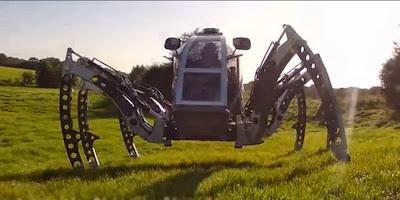 El robot hexápodo PhantomX
