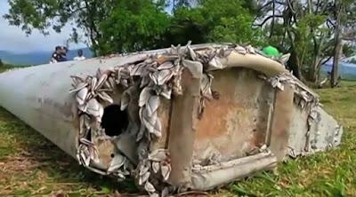 Serpihan Sayap Flaperon Sah Milik MH370