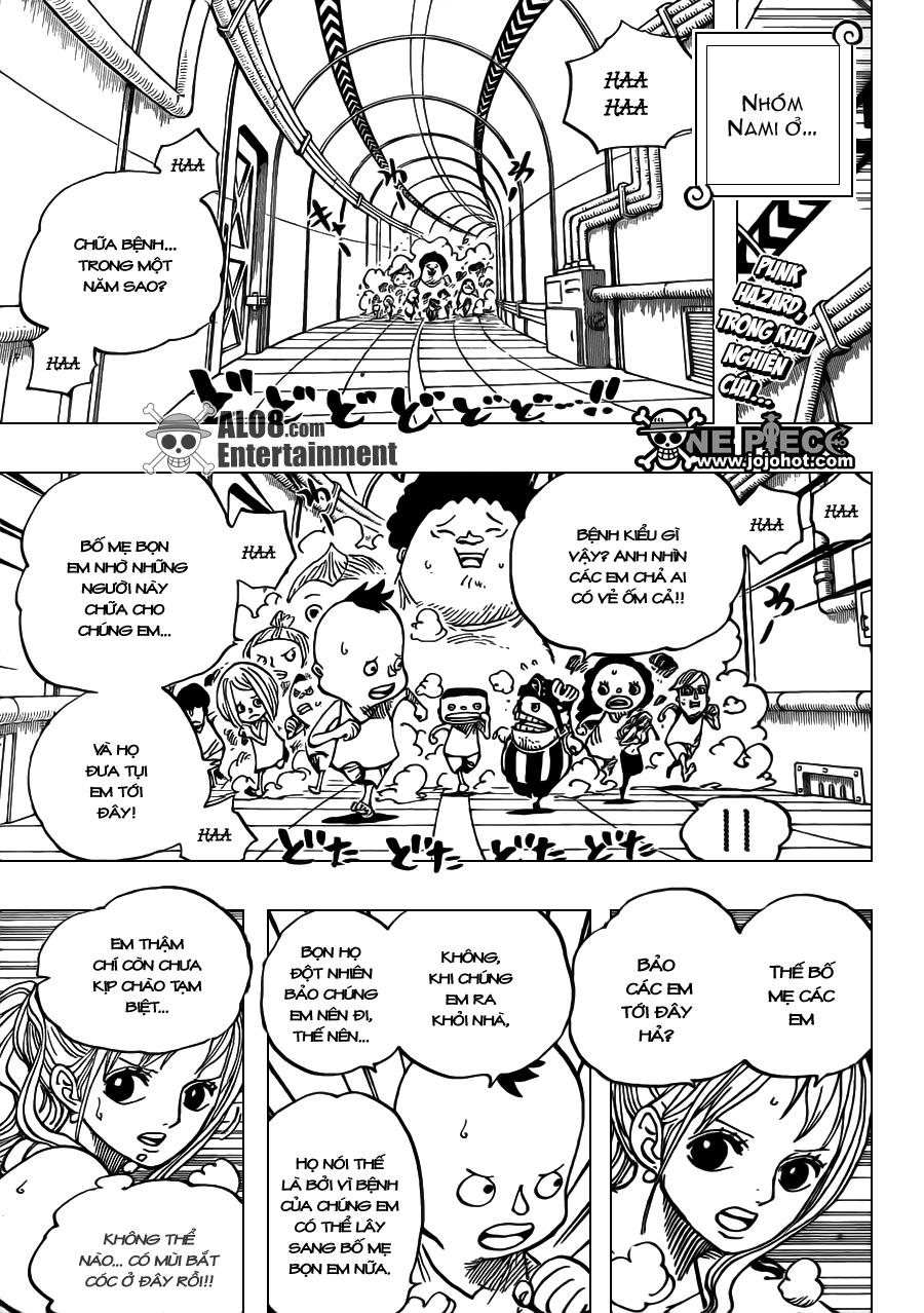One Piece Chapter 660: Thất Vũ Hải Hoàng Gia Trafalgar Law 003