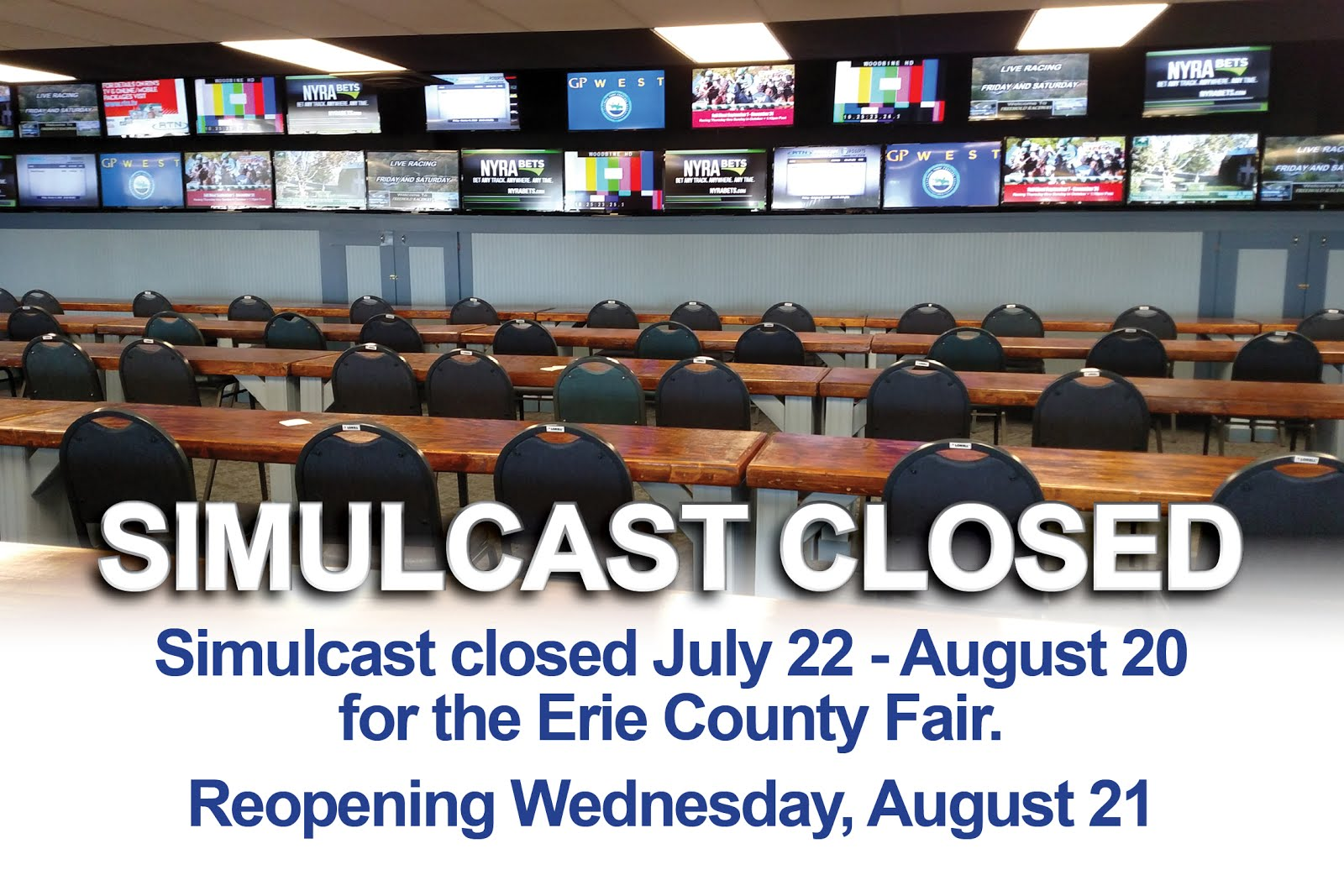 Simulcast to close for ECF