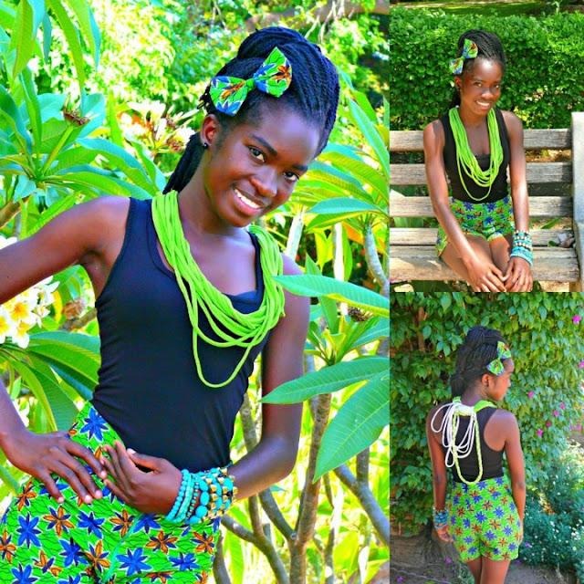 Ella Kavela, ASPIRING desginer namibia