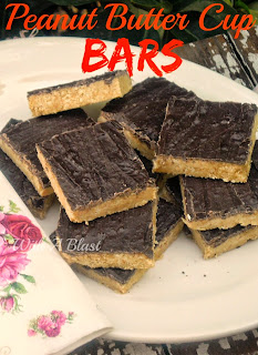 Peanut Butter Cup Bars ~ Your favorite Peanut Butter Cups, better AND in a bigger bar size ! #PeanutButterCup #PeanutButterBars