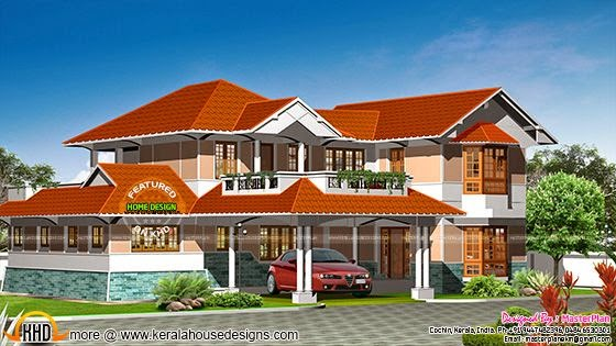 3d rendering of house