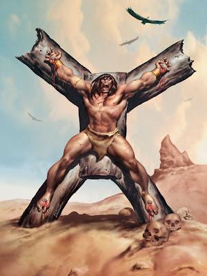 Imagens do cimério Conan-crucifixion-day